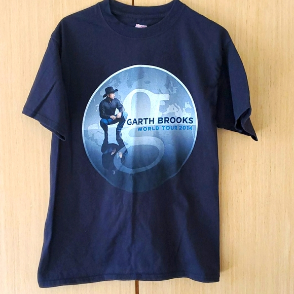 Garth Brooks 2014 World Tour T-shirt